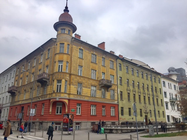 www.anunstoppablejourney.com: 5 Things to See in Ljubljana - architecture