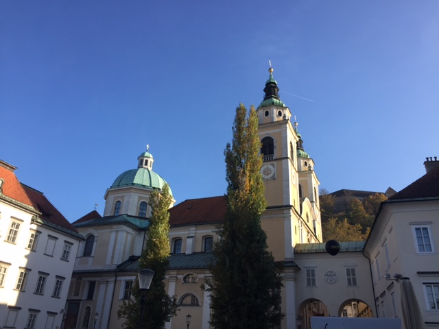 www.anunstoppablejourney.com: 5 Things to See in Ljubljana - Ljubljana Cathedral or the Church of St. Nicholas
