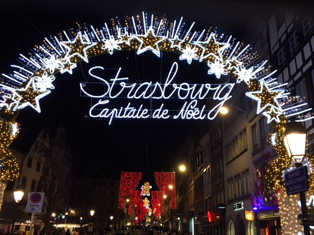 Strasbourg Christmas Market is the oldest Christmas market in France. Photo Credit: Monique White