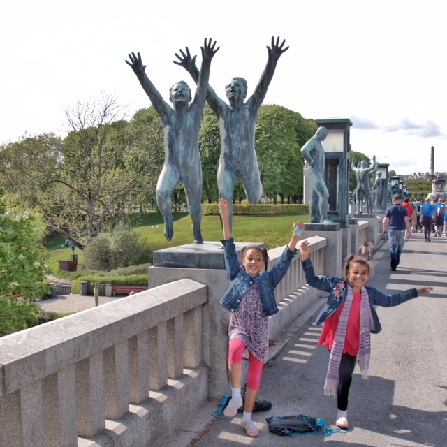 Oslo's Vigeland Sculpture Park is the world's largest sculpture park made by a single artist. Photo credit: Monique White