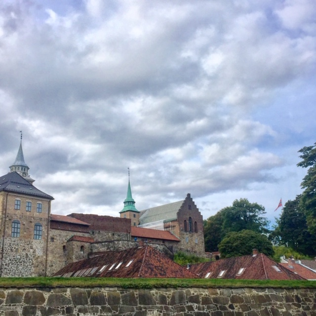 Akershus Castle and Fortress was once a medieval castle in the 13th century, before becoming a fortress in the 16th century and then being rebuilt in the 17th century as a renaissance castle. Photo credit: Monique White