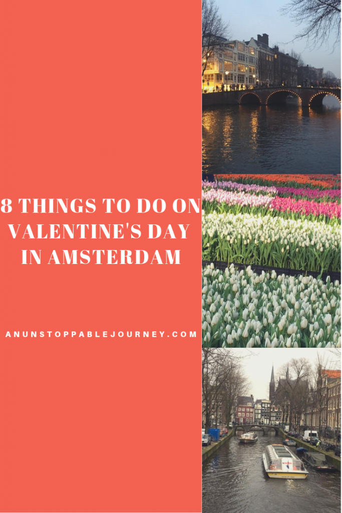 With its endless canals and infamous Red Light District, Amsterdam is both romantic and raunchy, making it the perfect place to spend Valentine's Day. Here are a few ways to explore Amsterdam with your sweetie.
