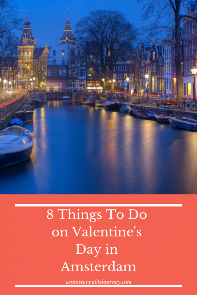 With its endless canals and infamous Red Light District, Amsterdam is both romantic and raunchy, making it the perfect place to spend Valentine's Day.