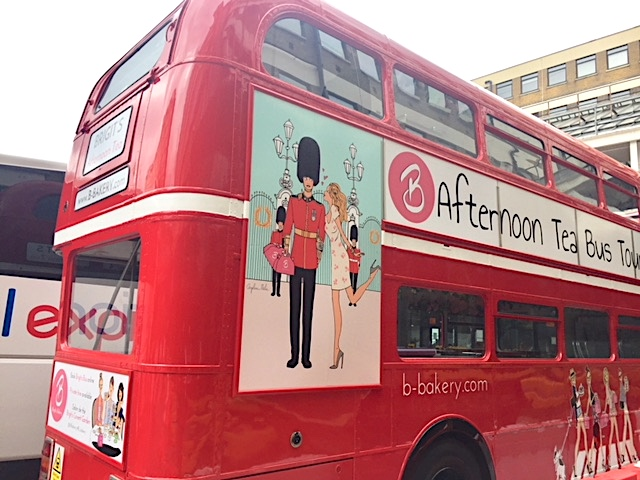 Vintage Routemaster and afternoon tea