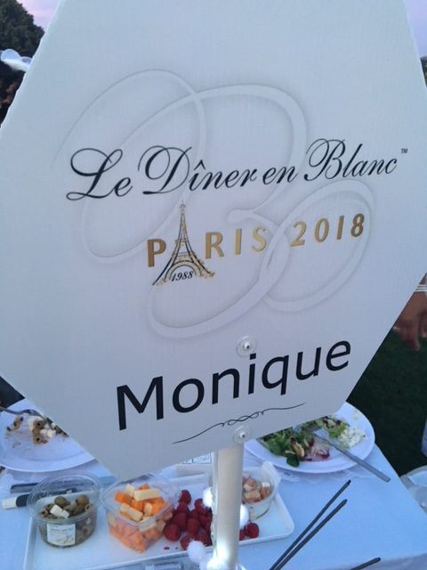 Dîner en Blanc's 30th anniversary celebration in Paris
