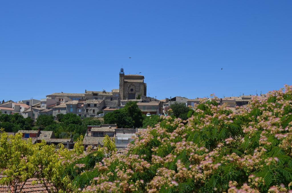 The charming town of Valensole in Provence, France