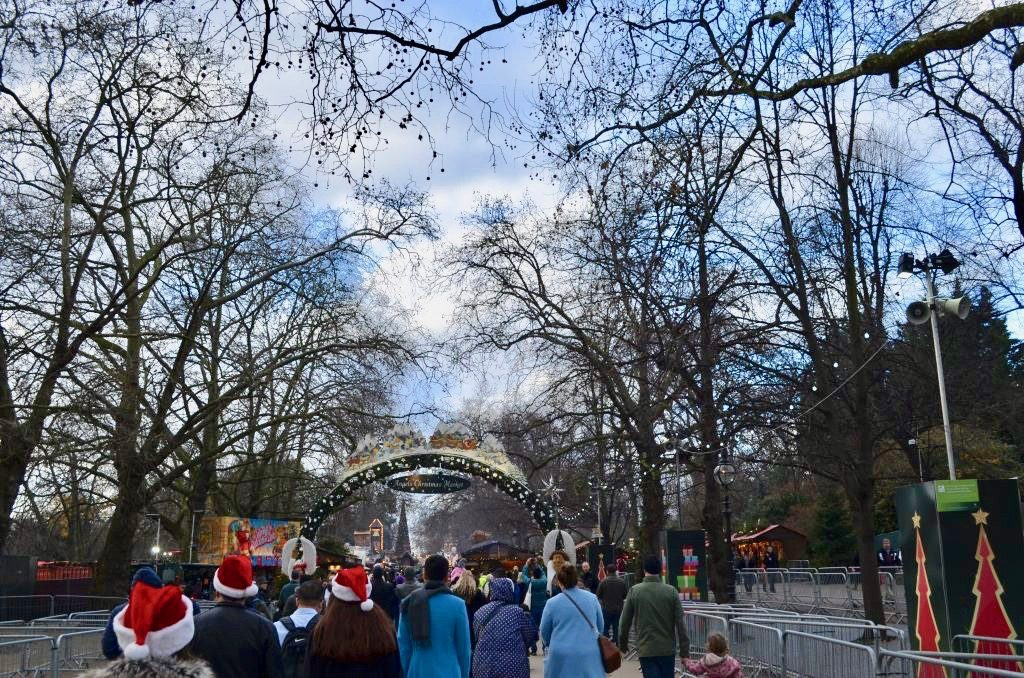 The Winter Wonderland in London's Hyde Park is part amusement park, part Christmas market. Photo credit: Monique White