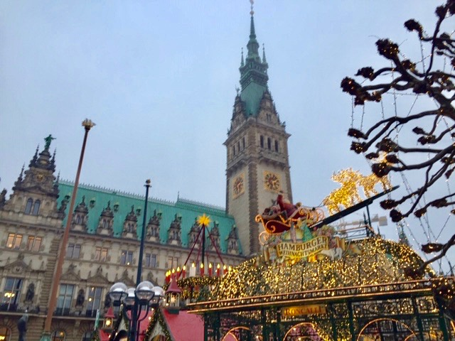 Hamburg, Germany's second-largest city is home to one of the country's favorite Christmas markets. Photo credit: Monique White