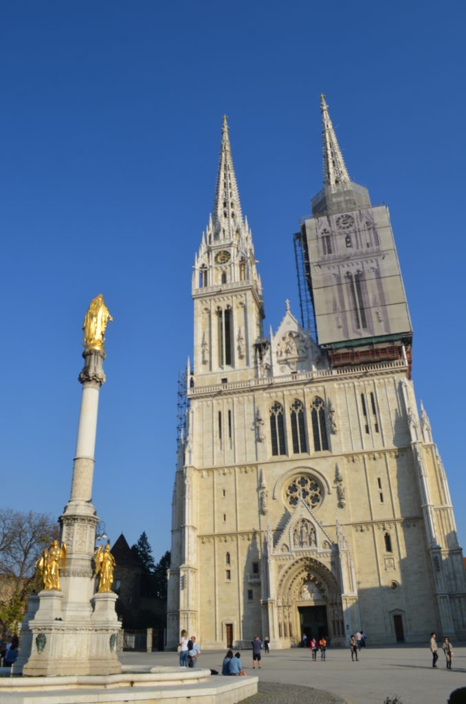 Zagreb Cathedral is the city's most recognizable landmark. www.anunstoppablejourney.com