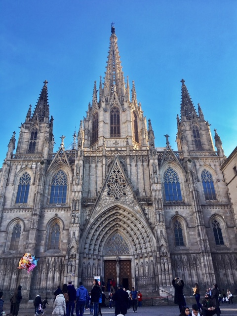 Barcelona Cathedral is the largest religious building in Barcelona and an excellent example of Gothic architecture.