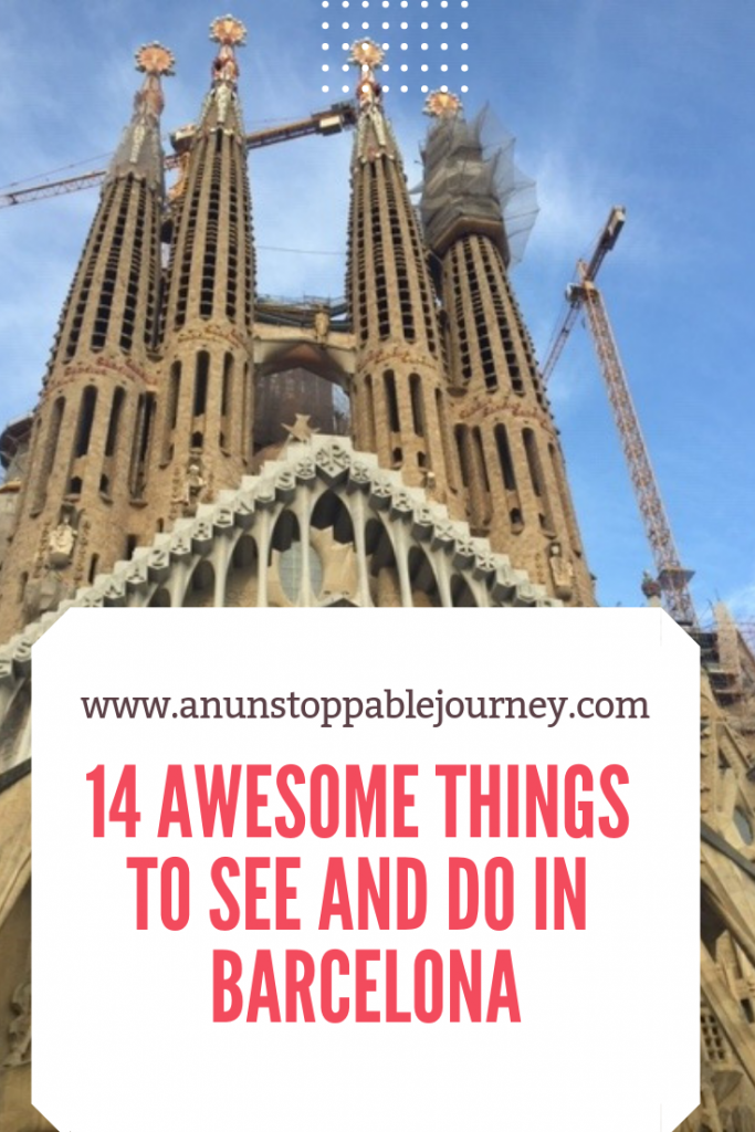 14 Awesome things to do in the wonderfully whimsical Barcelona, Spain.