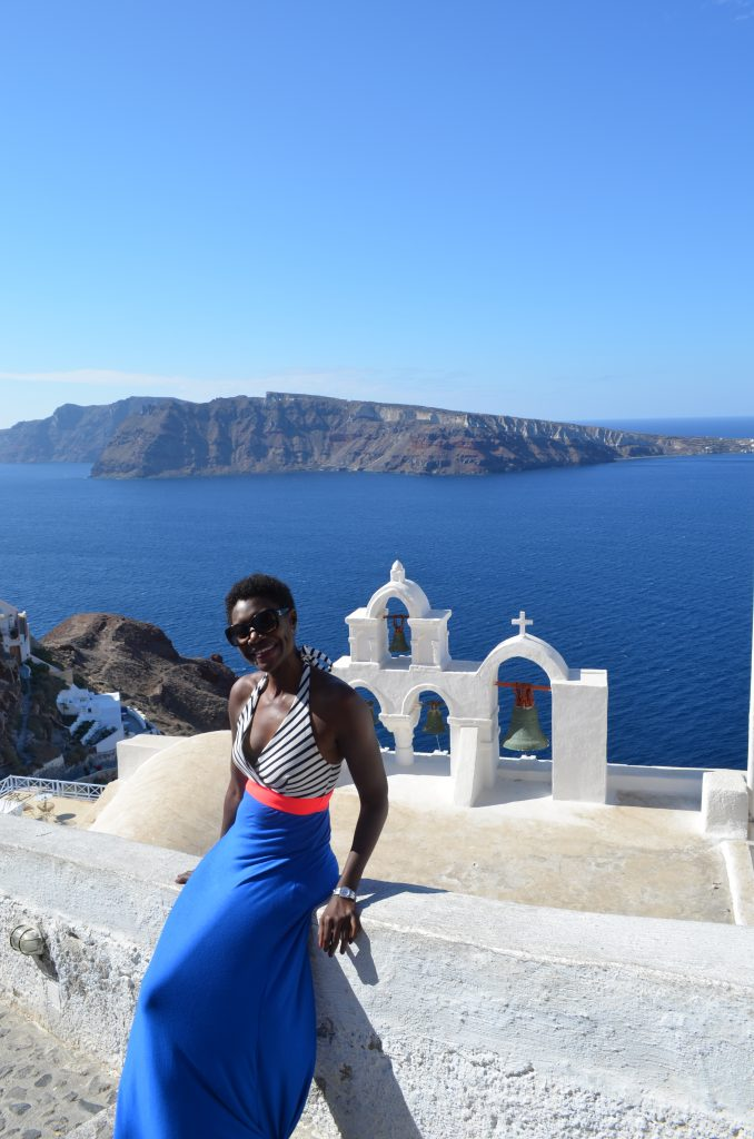 Without a bae on the Greek Island, Santorini? Yep.