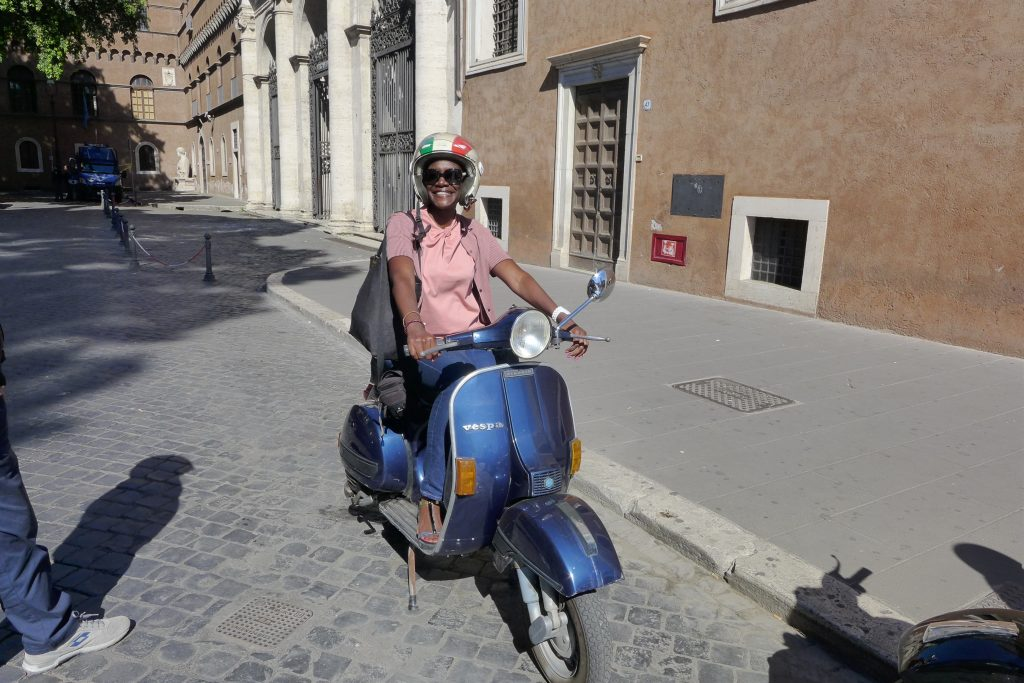 Take a Vespa tour in Rome and have your own Roman Holiday moment.
