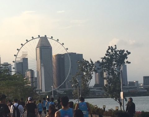 RUN THE WORLD: MARINA RUN, SINGAPORE