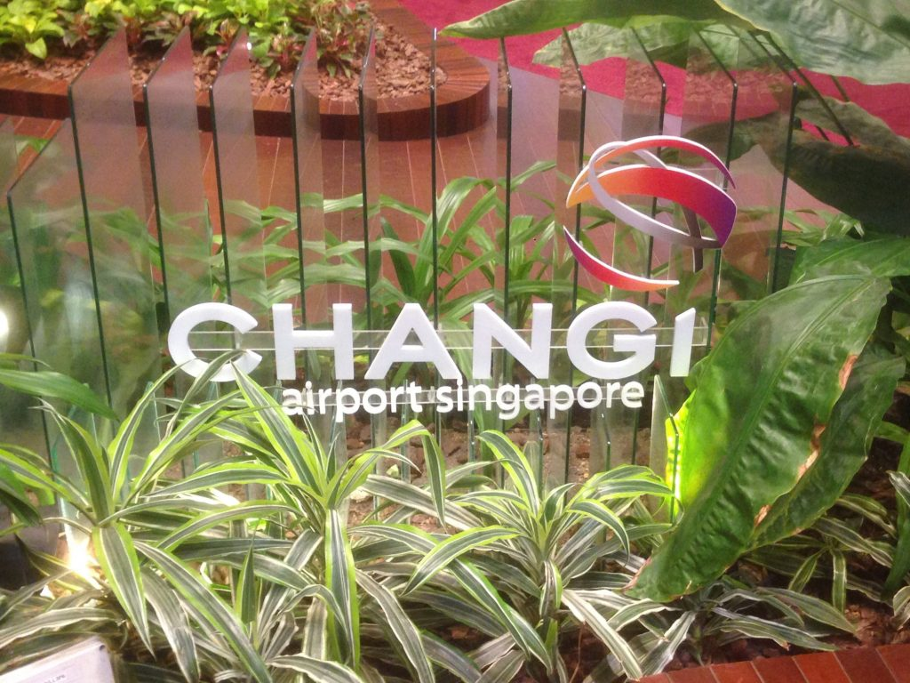 "Changi International Airport, winner of Skytrax's ""airline of the year"" award every year since 2013."
