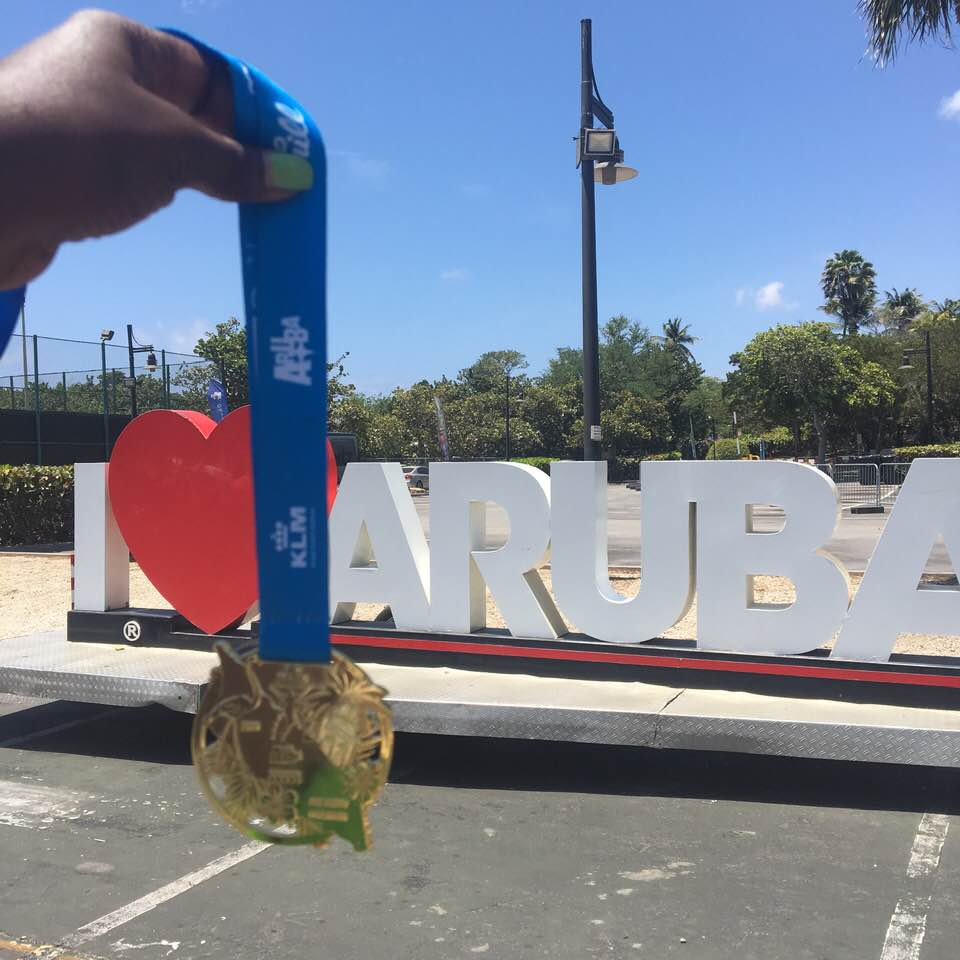 Aruba Marathon takes place on the Dutch Caribbean Island, and is part of the KLM sponsored Run in the Sun series.