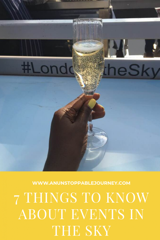 London in the Sky lets guests enjoy a high-flying culinary adventure 100 feet in the air. Photo credit: Monique White