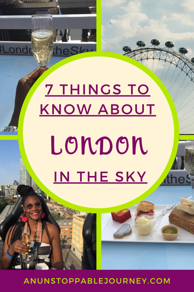 London in the Sky is the high-flying culinary adventure where guests enjoy delicious food and drinks while taking in breathtaking views of the city at a 22-seat Sky Table suspended 100 feet in the air. Here's all you all you need to know before you take to the sky. London in the Sky| Events in the Sky| Visit London| Things to do in London | London Itenerary | Bucket List | United Kingdom | UK |Travel Planning #London #UK #VisitLondon #Londoninthesky