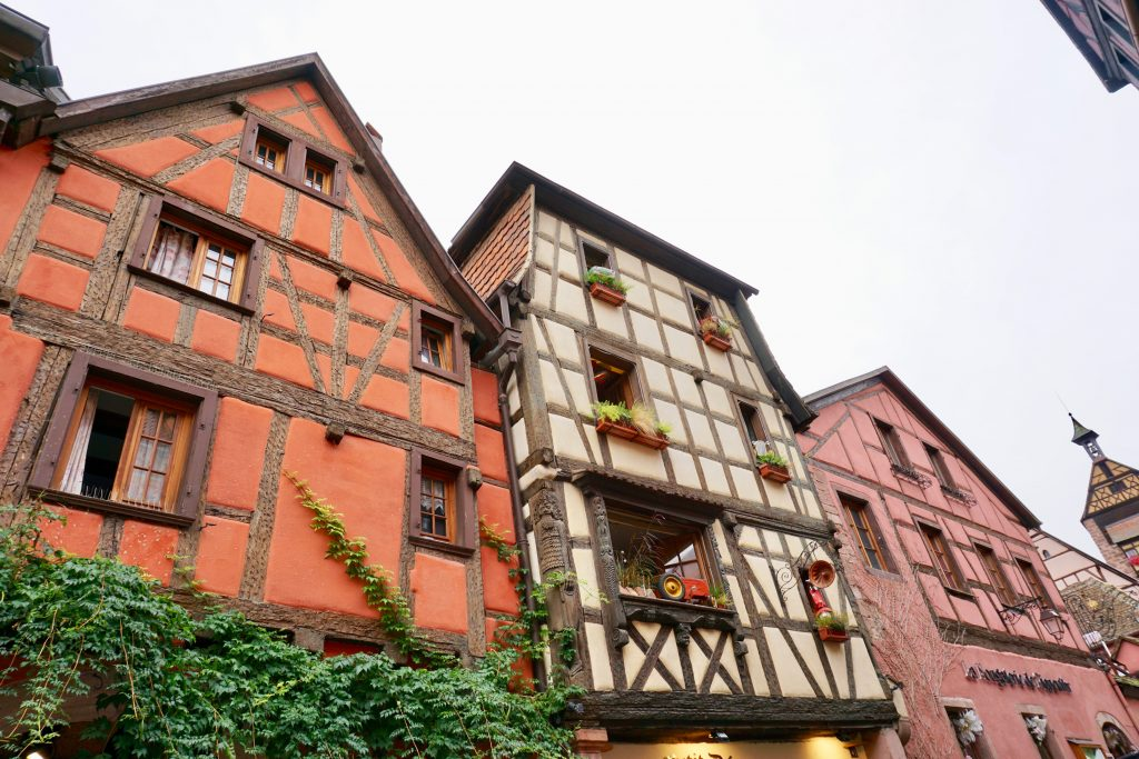 "Riquewihr's architecture and the quality of its wine has earned it the nickname ""Pearl of the Alsatian Vineyard"", Photo credit: Monique White"