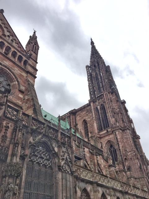 The stunning Strasbourg Cathedral is considered a marvel of Gothic design the world over. Photo credit: Monique White