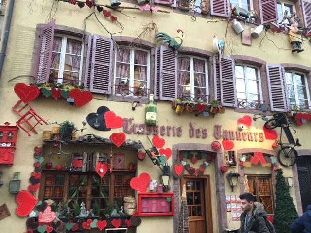 """Colmar is the enchanting little village known as """"Ville Fleurie"""" (flowering city) because of all of the dazzling floral displays. Photo credit: Monique White"""
