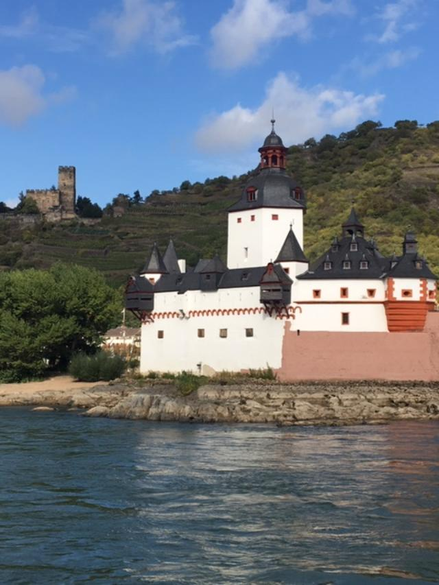 The Middle Rhine Valley is a UNESCO World Heritage Site full of castles, vineyards and historic towns. Photo credit: Monique White