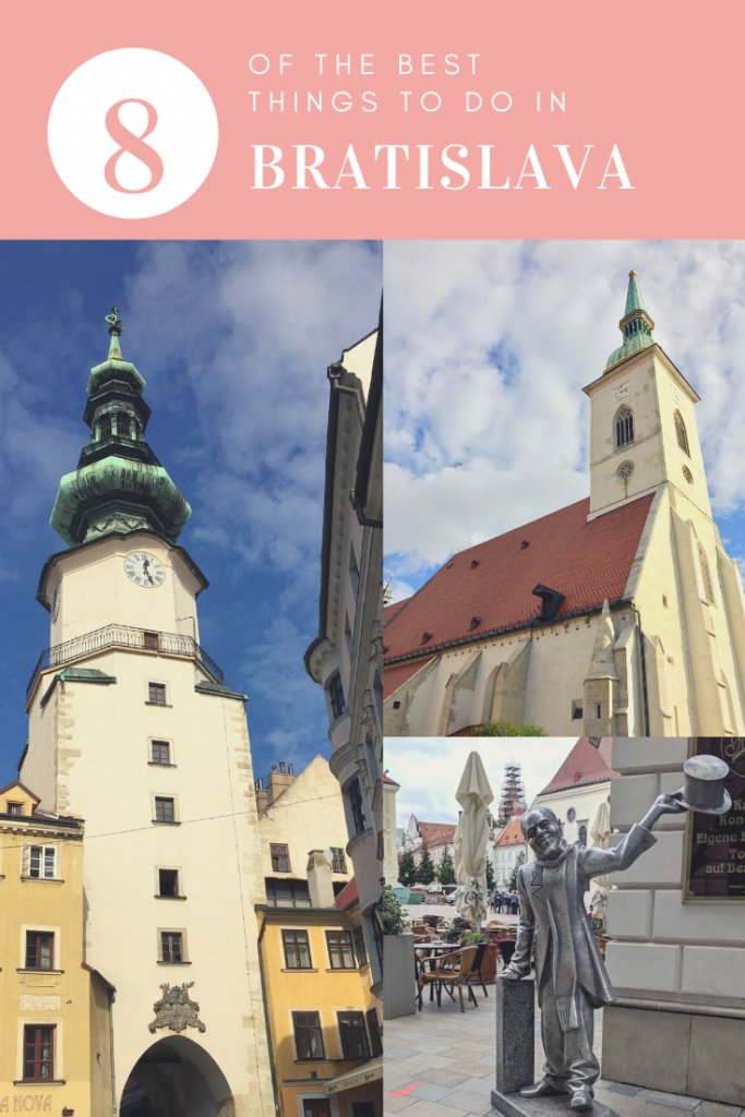 The best things to do in Bratislava, capital of Slovakia, which sits on both banks of the Danube and borders Czech Republic, Hungary and Austria. Photo credit: Monique White