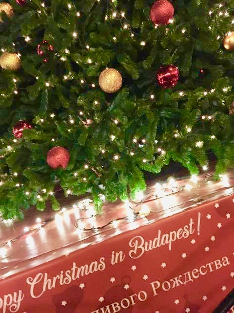 Experience the Christmas markets in Budapest, which have become increasingly popular, and rank among Europe's favorite markets. Photo credit: Monique White