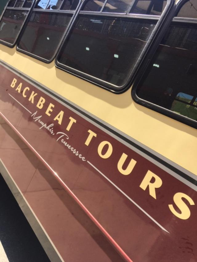 Take a ride through the musical history of Memphis with Backbeat Tours. Photo credit: Monique White