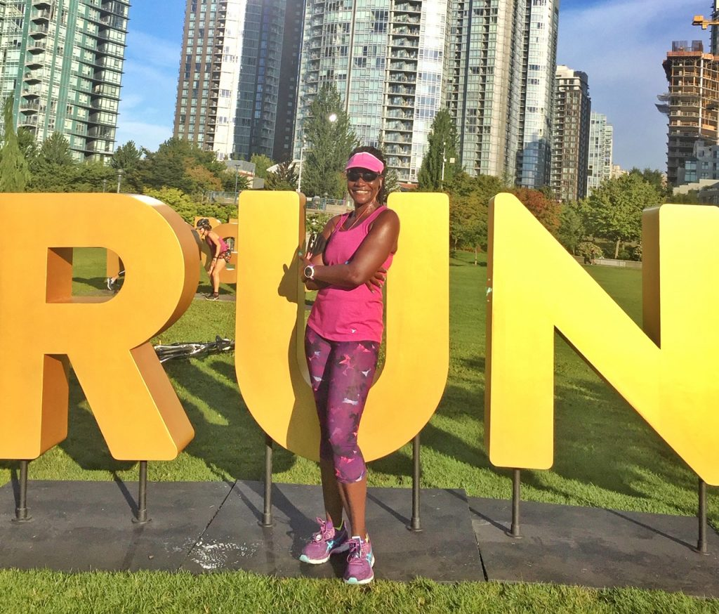 "Travel and running blogger on a ""runstoppable journey"" racing towards completing races in 50 countries by her 50th birthday."