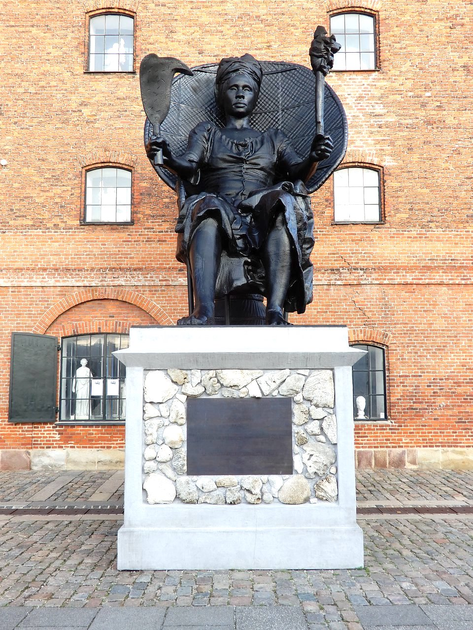 """I Am Queen Mary"" statue in Copenhagen pays tribute to Mary Thomas, who led the 1878 ""Fireburn"" revolt, which resulted in mass destruction in the former Danish colony of St. Croix. Photo credit: Google Images"