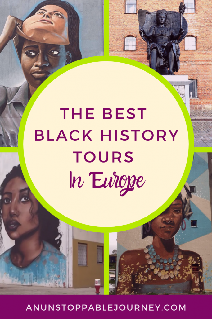 An increasing number of travelers are seeking to learn more about Europe's rich Black heritage and discovering that it can be explored through Black history tours in a number of European cities. #blacktravel #europetravelplanning #travelhistory #blacktravelblogger #blackhistory #worldhistory #blm