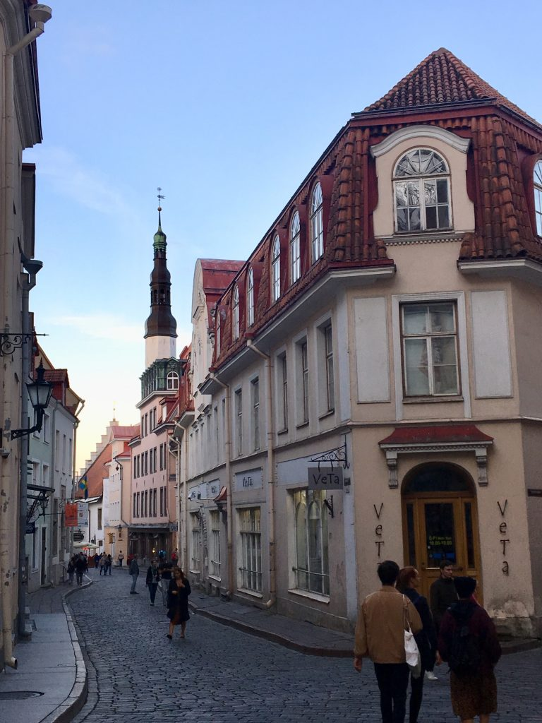 Tallinn is one of the best preserved medieval cities in Europe, and the walled, cobblestoned Old Town is a UNESCO World Heritage Site where you'll find its Gothic Town Hall and a number of cafés and shops. Photo credit: Monique White