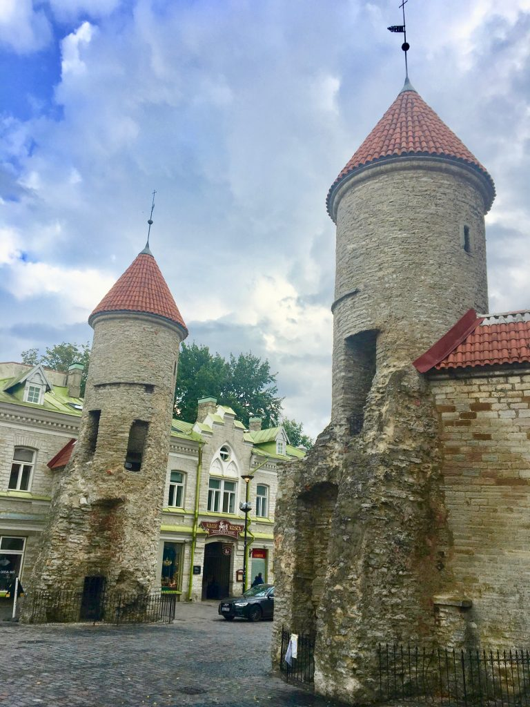 With more than a mile of its original city wall still standing, Tallinn boasts one of the best preserved medieval cities in Europe. Photo credit: Monique White
