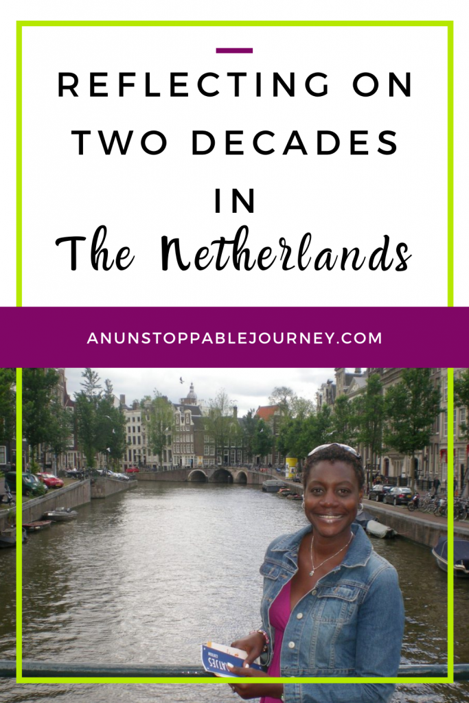 American expat and travel and running influencer, Monique White, reflects on living in The Netherlands for two decades and shares her gripes and gratitudes.Expat | Black Expat | Black Women Expats | American overseas | Netherlands | Holland | Expat Life|